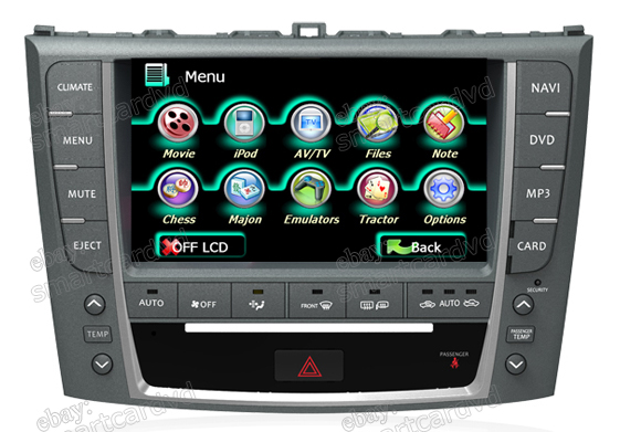 Lexus Is250 Navigation Dvd Lexus Is300 Gps Navigation Dvd